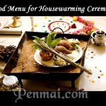 Food Menu for Housewarming Ceremony