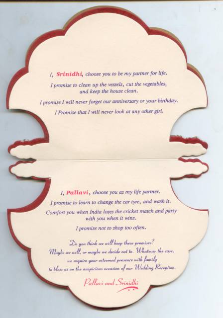 Funny Indian Wedding Invitation Wording For Friends Penmai